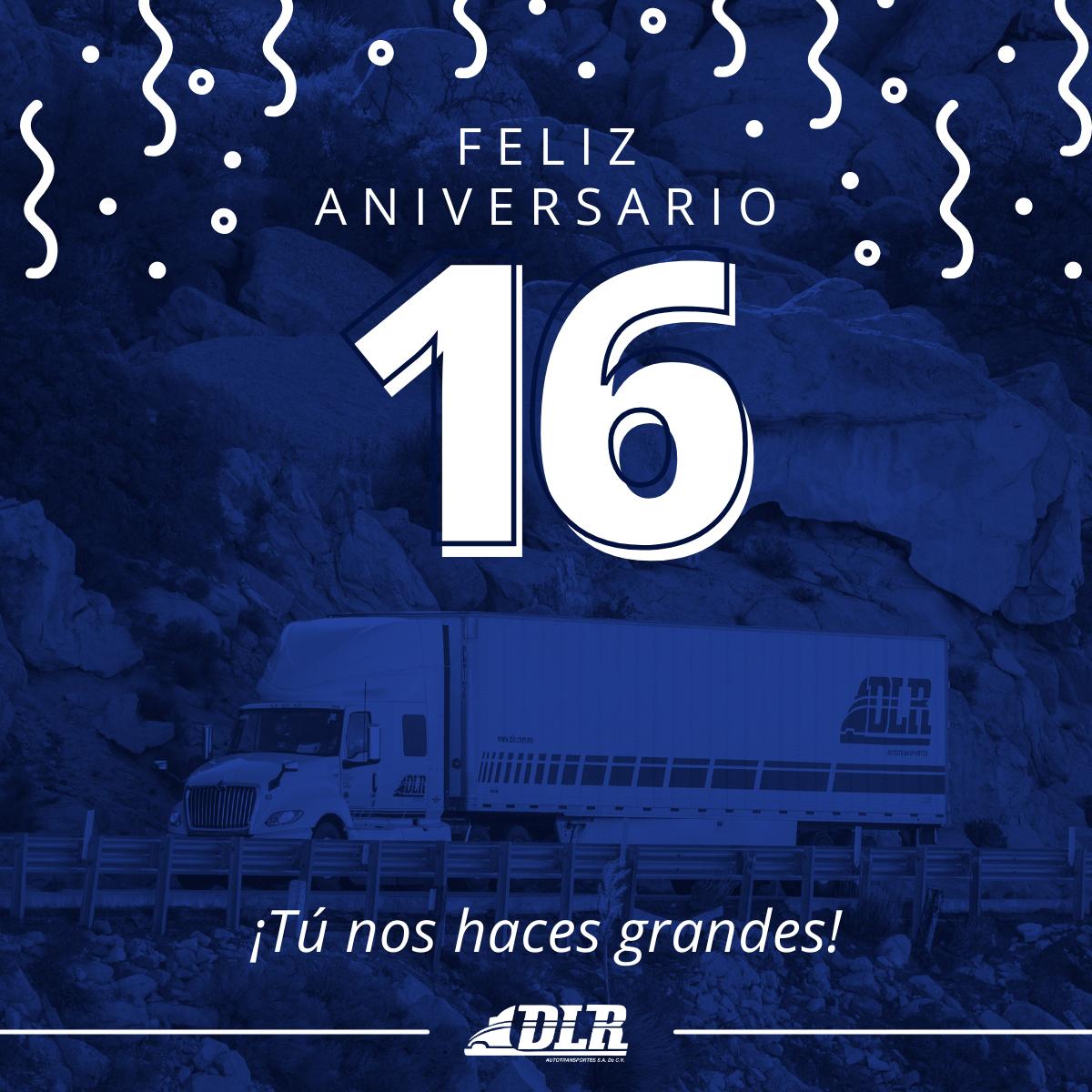 Aniversario 16 de DLR Autotransportes